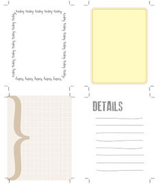 The Creative Place: printables