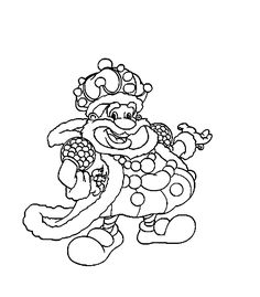 Candyland Character Coloring Page