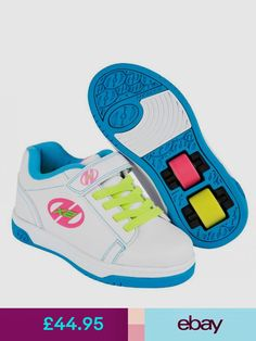 9caefce6a27 Heelys Dual Up Children Two Wheels Roller Spinning Trainers UK Sizes 11 3