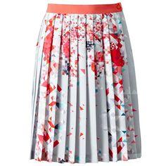 Πλισέ φούστα με γεωμετρικά print