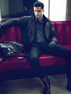 Modern lounge | Giorgio Armani #menswear