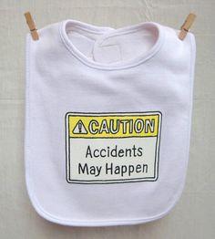 Baby Bib Funny Infant Bib Baby Shower Gifts Funny by HazardBaby