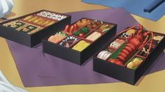 anime food always better than a real food Anime Bento, Cute Food, I Love Food, Yummy Food, Anime Gifs, Food Cartoon, Food Painting, Food Drawing, Bento Box