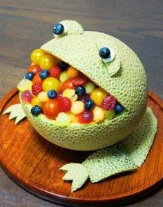 Honey Dew Melon Frog!