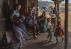The Family Porch Band by Morgan Weistling