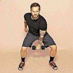 Try Bob Harper's 20 Min Crossfit Workout. You just need a set of 5-10 lb dumb bells.
