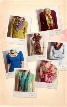 7 Ways to Wear a Scarf