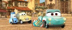 "Pixar Post - For The Latest Pixar News: ""Luigi's Rollickin' Roadsters"" To Open Early 2016 At Cars Land"