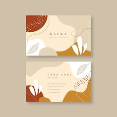 Gold Business Card, Elegant Business Cards, Business Card Design, Free Business Card Templates, Thank You Card Design, Name Card Design, Design Cards, Packaging Inspiration, Logo Image
