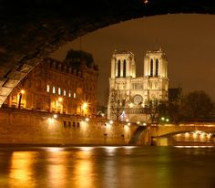Paris by night on the Bateaux Mouches.  Best view of Paris with the exception of the top of the Eiffel at night...