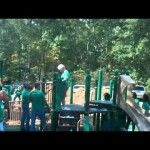 Children living with physical and developmental disabilities now have another reason to visit the South Jersey Field of Dreams in Absecon.  Children living with physical and developmental disabilities will have the chance to play on a new playground built just for them.  #SoJO #SouthJerseyFieldOfDreams #Absecon #Playground