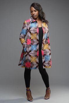 Bouffée trench-coat de adorable Coco printemps peut doubler comme un habit boutonné ou la tranchée parfaite pour un habillage, smart casual ou robe