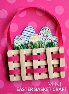 Family Fun Night at Bacon Library: Monday, April 10th from 7-8 p.m. Make a craft stick mini Easter basket!  All materials are provided, please register in advance. Registration is for families only.