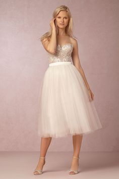 Wynne Skirt from @BHLDN love the skirt for the bridal shower with a cute tank top
