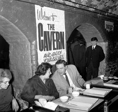 Brian Epstein heard the Beatles for the first time within the walls of The Cavern Club in Liverpool.