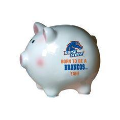 Black NCAA Boise State Broncos Adult NCAA Alumni Lamp