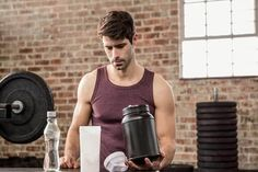 We feature Whey Protein, Creatine, BCAA's, Omega Carnitine and Glutamine in this Ultimate Guide to Gym Supplements. Proper Nutrition, Nutrition Guide, Nutrition Plans, Sports Nutrition, Healthy Nutrition, Healthy Food, Healthy Eating, Muscle Building Supplements, Protein Supplements