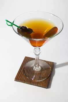 Head Bartender Mike Robertson of Driftwood Room in Portland, Oregon gave us the recipe for this Manhattan variation using Bulleit rye. See the recipe »