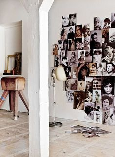 Foto hart - Pimp up your wall Photo Decoration Ideas, Decoration Inspiration, Interior Inspiration, Inspiration Wall, Wall Decorations, Make Your Own Wallpaper, Picture Wall, Photo Wall, Photowall Ideas
