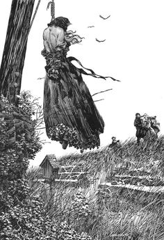 Bernie wrightson - Character Design Page