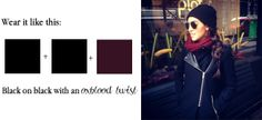 Modern oxblood palette inspiration via Tiffany Pinero Style