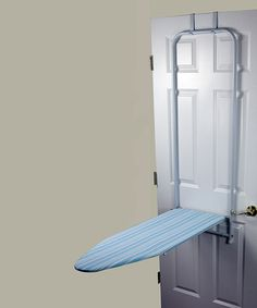 Love this Blue Over the Door Ironing Board on #zulily! #zulilyfinds