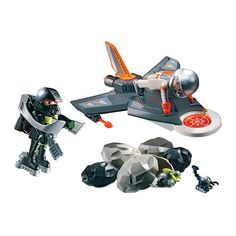 "Playmobil Secret Agent Detection Jet - Playmobil - Toys ""R"" Us"