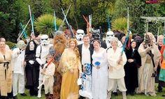 Awesome Star Wars wedding.