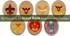 Here's my comments on the new Scout Rank requirements that take effect on January 1, 2016.