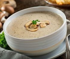 Can Mushroom soup Recipes is Among the Liked soup Recipes Of Numerous Persons Round the World. Besides Simple to Create and Good Taste, This Can Mushroom soup Recipes Also Health Indeed. Creamy Mushroom Soup, Mushroom Soup Recipes, Creamy Mushrooms, Stuffed Mushrooms, Stuffed Peppers, Foodblogger, Soups And Stews, A Food, Side Dishes