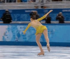 Kim landed her signature triple lutz-triple toe combination