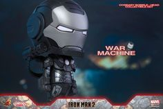 Hot Toys – COSB268 – Iron Man 2 - War Machine Cosbaby Bobble-Head