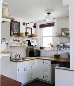 Tiny kitchen inspiration