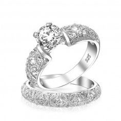 Filigree Bridal Ring | Shop Bling Jewelry