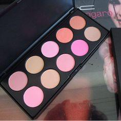 mac makeup 10 color powder blush : cheap mac cosmetics wholesale - only $12.02!