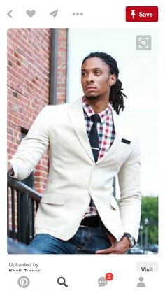 For dreadlocks inspiration check out these 40 trendy dreadlock styles for men. Sharp Dressed Man, Well Dressed Men, Fashion Moda, Mens Fashion, Fashion Guide, Fashion Websites, Mens Dreadlock Styles, Dreads Styles, Jean Shirt Dress