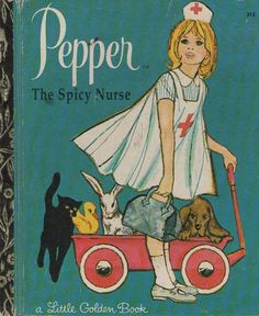Pepper the Spicy Nurse ~ inappropriately bad children's book covers