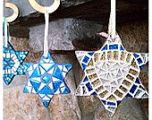 """""""Stars"""" Etsy Treasury by Deirdre Vogel from sirencall. Featuring my Mosaic Star of David Collection :)"""