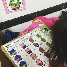 Write the Room is a TREAT! Review numbers 0-15 with my Sweet! Ten Frames Write the Room.