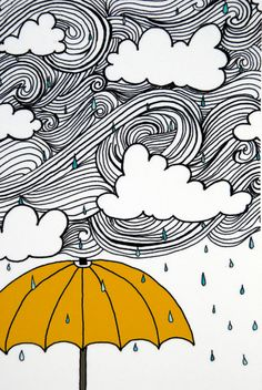 The Yellow Umbrella Illustration by: Taren S. by osloANDalfred