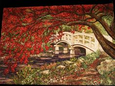 "Japanese Quilt Show Winners | One of Three Judge's Choice Winners: ""My Treasures"" by Hiroko Miyama"