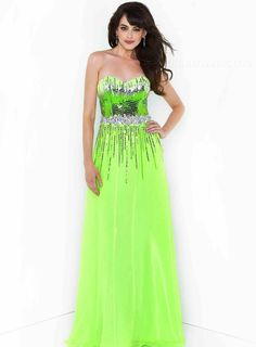 ihomecoming.com SUPPLIES Gorgeous Sweetheart Neckline Beaded  Long Homecoming Dress Elegant