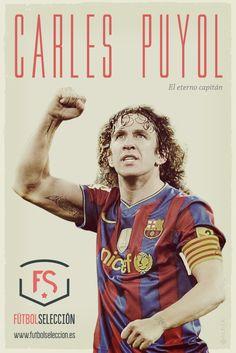 Carles Puyol. Eterno capitán