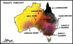 It's been bloody hot in Australia!!