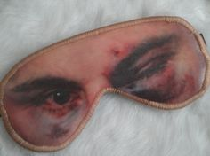 Freak Them Out Sleep Mask PRIZE FIGHTER  by FreakyOldWoman on Etsy