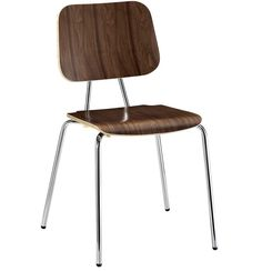 Sierra Side Chair WALNUT from  apt2b.com