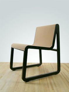Nick Tretiak cork lounge chair