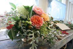 organic wedding centerpiece | Flickr - Photo Sharing!