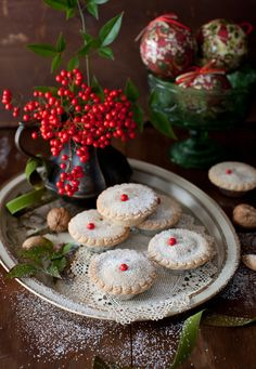 Mincemeat pie is a British tradition during the Christmas Holiday season.  These are Whisky-Laced Mince Tarts.