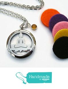 Buddha Essential Oil Diffuser Locket Necklace, Stainless Steel Aromatherapy Pendant Necklace with Assorted Felt Diffuser Pads from Abundant Earth Works https://www.amazon.com/dp/B06XPQPL6V/ref=hnd_sw_r_pi_dp_x5QZyb79A9BQJ #handmadeatamazon  #buddha #lotusnecklace #essentialoildiffuser #diffuser #diffusernecklace #stainlesssteeldiffuser #birthstonenecklace #personalized #buddhist #nature #buddhajewelry #aromatherapy #aromatherapynecklace #yoga #yoganecklace #personalized #abundantearthworks